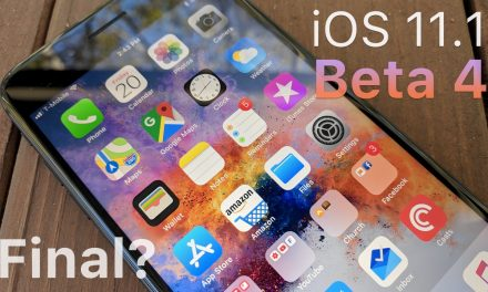 iOS 11.1 Beta 4 – What's New?
