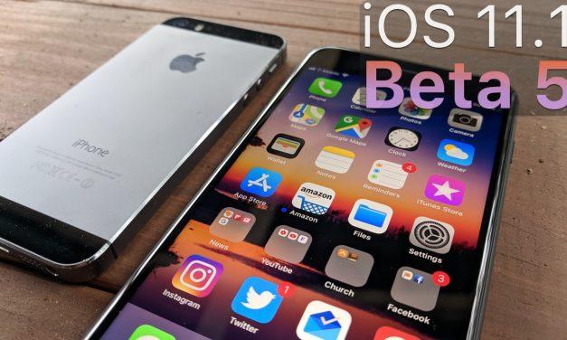 iOS 11.1 Beta 5 – What's New?