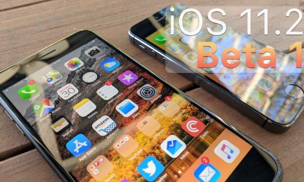 iOS 11.2 Beta 1 – What's New?