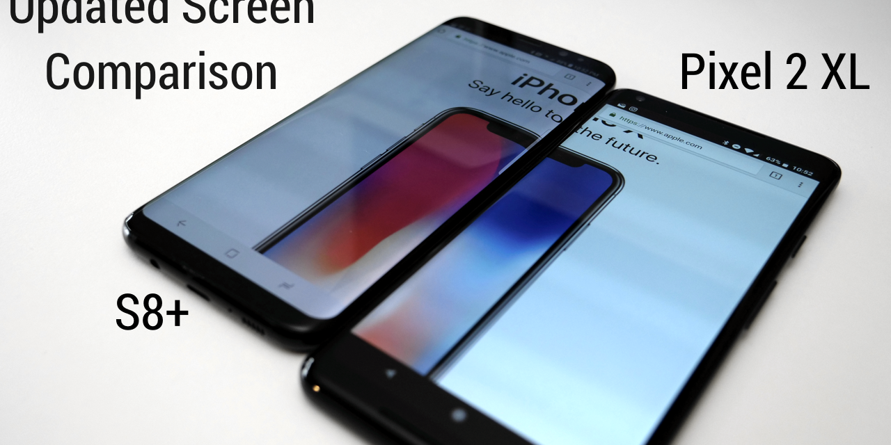 Pixel 2 XL – New Update Screen Comparison