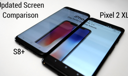 Pixel 2 XL – New Update Screen Comparison