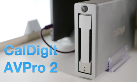 CalDigit AVPro 2  – My Favorite MacBook Hard Drive