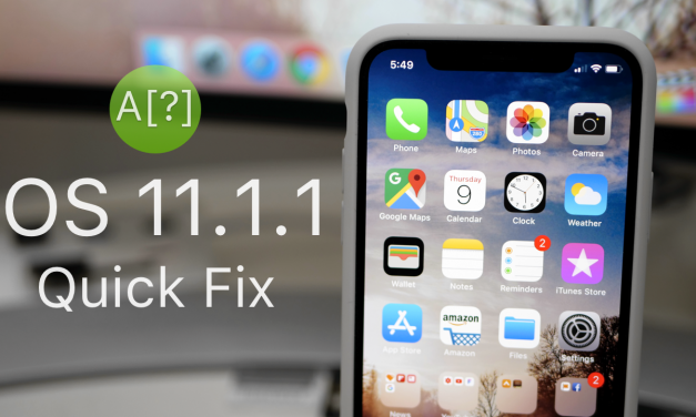 iOS 11.1.1 is Out! – What's New?