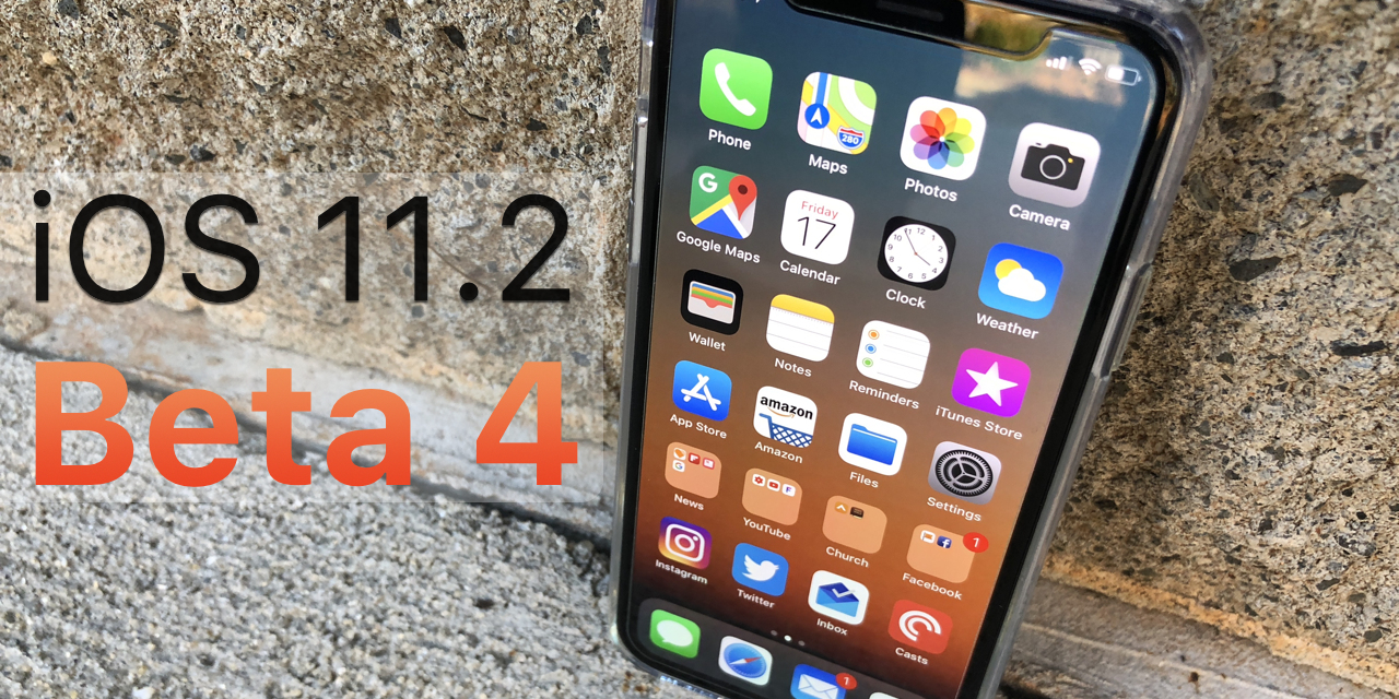 iOS 11.2 Beta 4 – What's New?