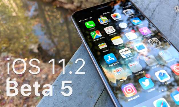 iOS 11.2 Beta 5 – What's New?