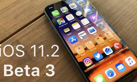 iOS 11.2 Beta 3 – What's New?