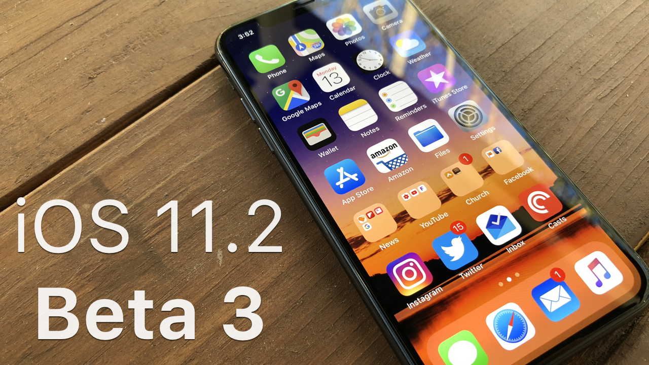 Grab The Ios 11 Default Wallpaper: IOS 11.2 Beta 3 – What's New?