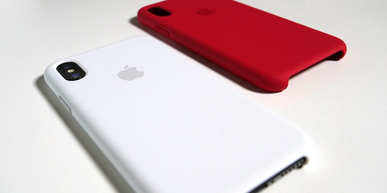 Official iPhone X Silicone Cases