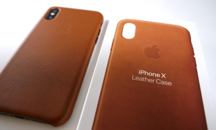 Official iPhone X Leather Case