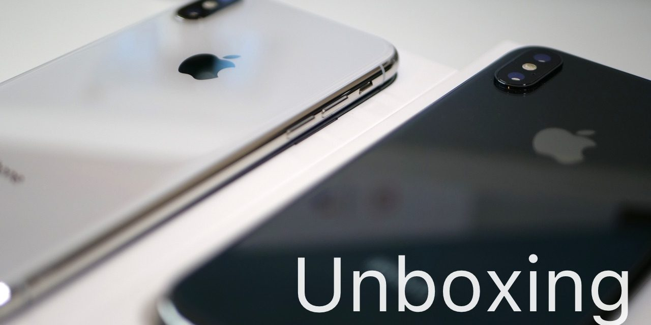 iPhone X – Unboxing, First Look and Quick Comparison