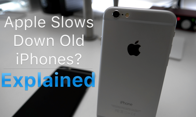 Apple Slows Old iPhones? – Explained