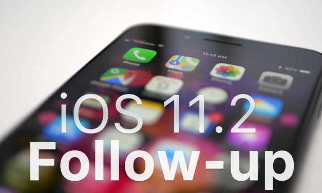 iOS 11.2 – Follow-up