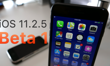 iOS 11.2.5 Beta 1 – What's New?