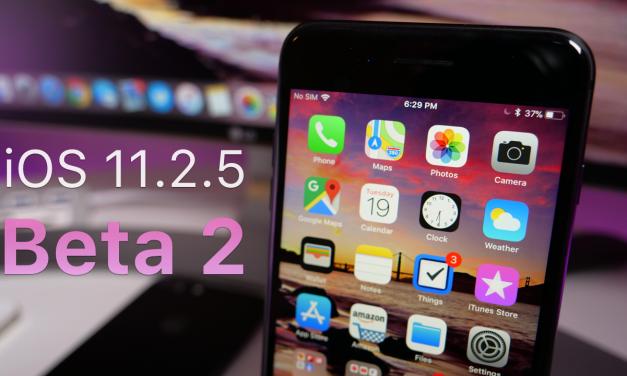 iOS 11.2.5 Beta 2 – What's New?