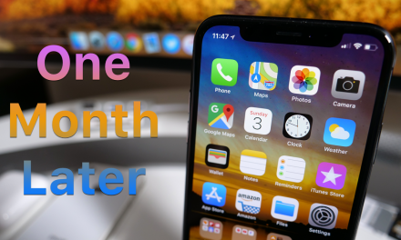 iPhone X – One Month Later