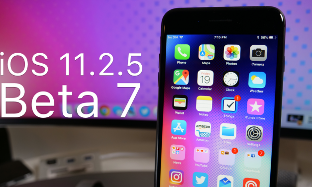 iOS 11.2.5 Beta 7 (GM) – 4K60P