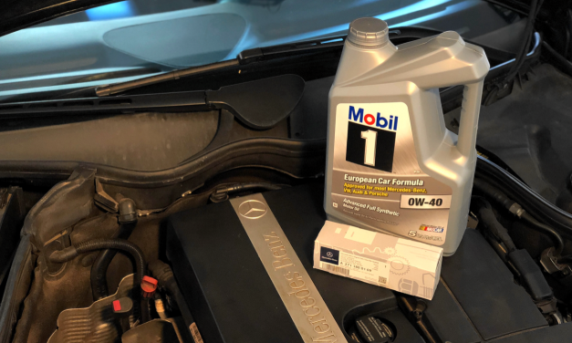 How to change oil in a Mercedes C230K W203 M271