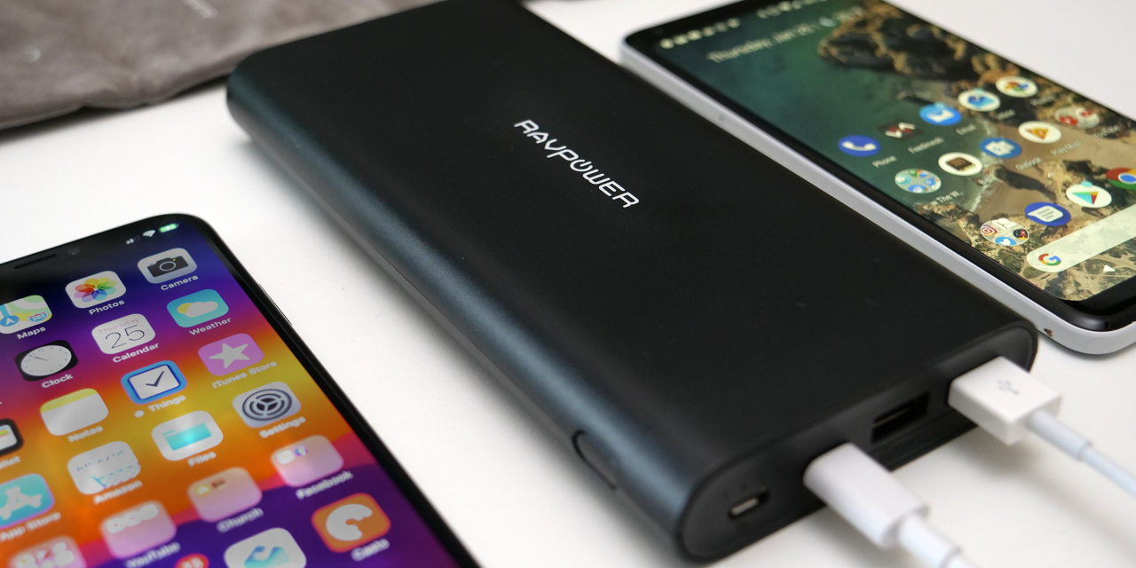 RAVPower 26800mAh Battery Pack – Charge 3 Devices At Once