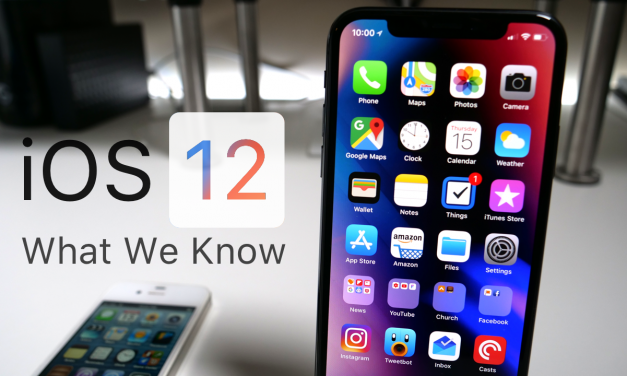 iOS 12  – What We Know So Far
