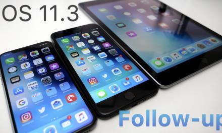 iOS 11.3 – Follow-up