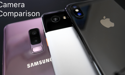 iPhone X, S9+, and Pixel 2 XL –  Camera Comparison