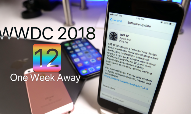 iOS 12 and WWDC 2018 – One Week Away