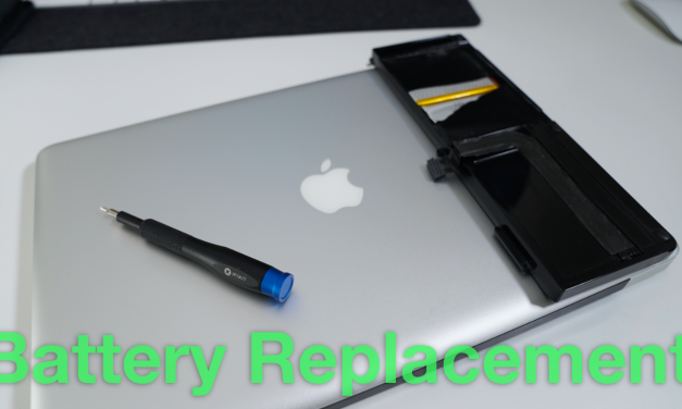 MacBook Pro Battery Replacement (Early 2011 to Mid 2012)