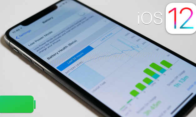 iOS 12 Battery Detail Explained