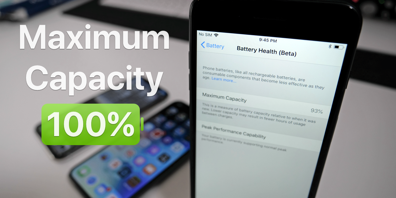 iPhone Maximum Battery Capacity – What You Should Know