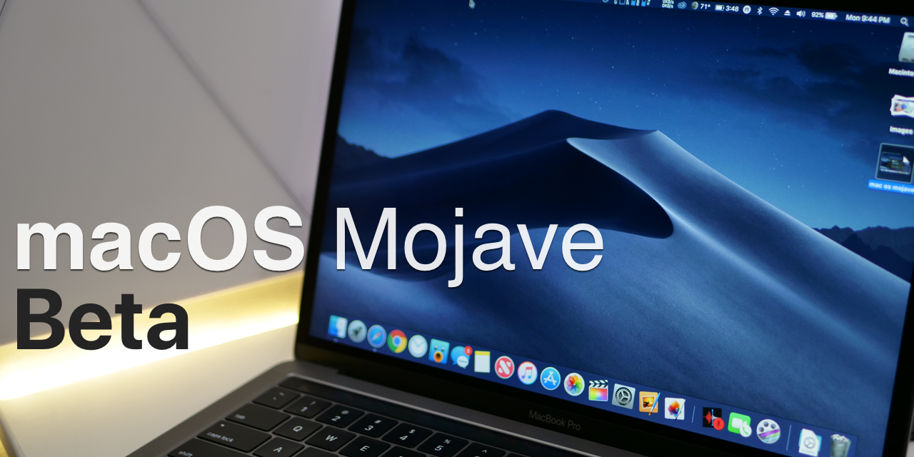 macOS Mojave Beta – What's New?