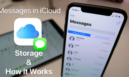 Messages in iCloud – Storage and How It Works