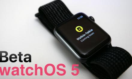 watchOS 5 Beta – What's New?