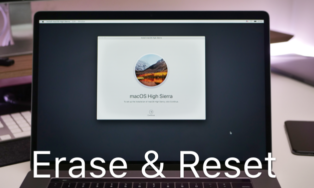 How To Erase and Reset a Mac back to factory default