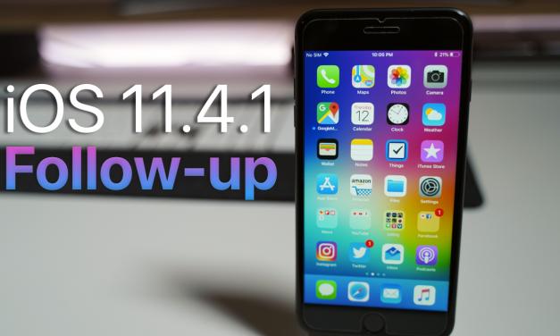 iOS 11.4.1 Follow up – Battery still needs work