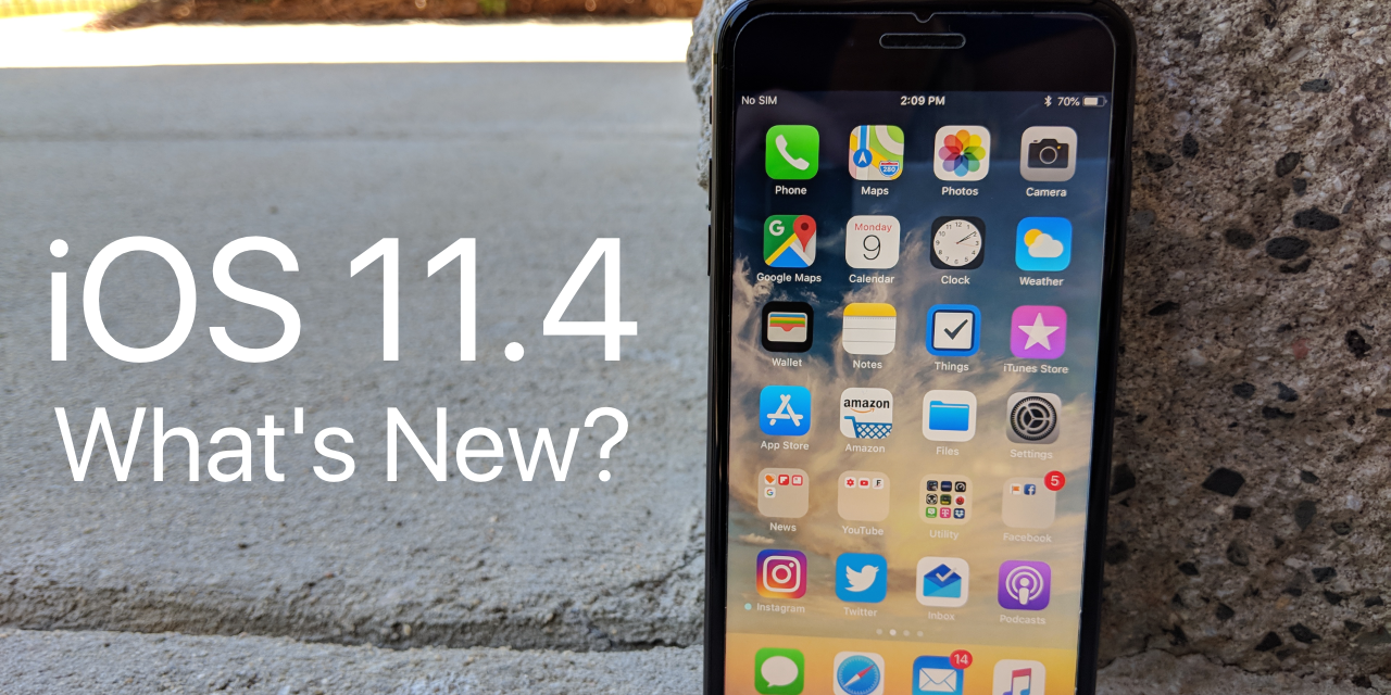 iOS 11.4.1 is Out! – What's New?
