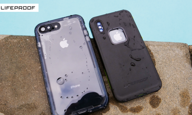 Lifeproof Fre and Nuud Cases for iPhone X and 8 Plus