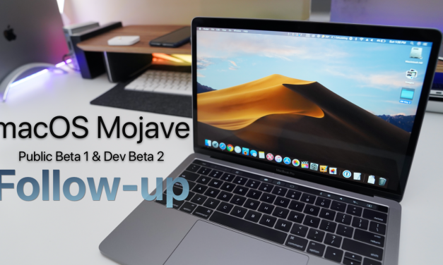 macOS Mojave Public Beta 1 & Dev Beta 2 – Follow-up