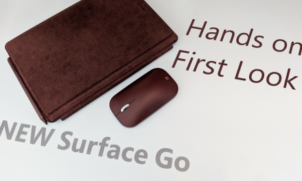Surface Go – First Look