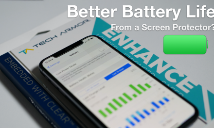 Better Battery Life from a Screen Protector and more?