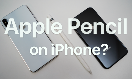 Apple Pencil To Work on 2018 iPhones – Do we want this?