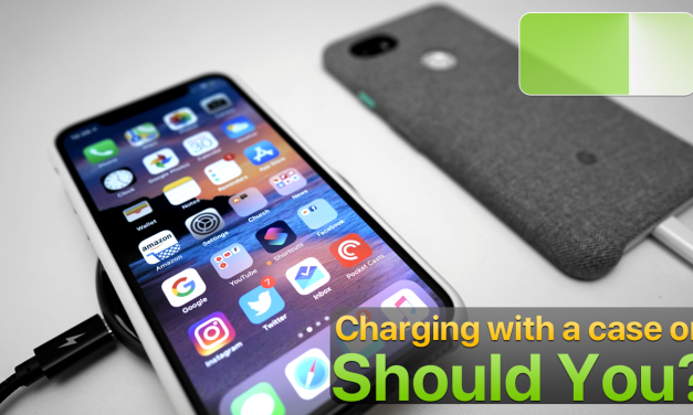 Should you charge iPhone or Android Phones with a case on?