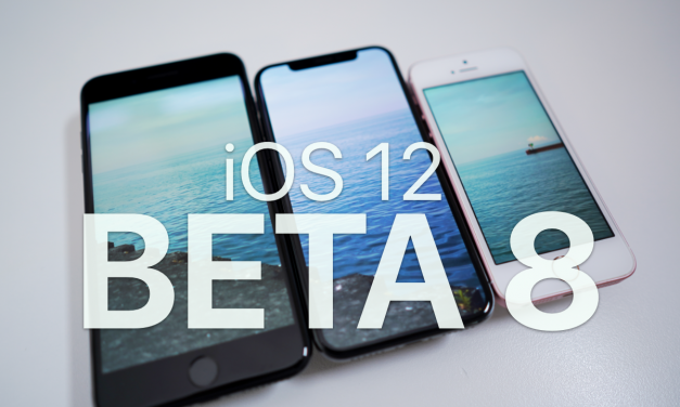 iOS 12 Beta 8 – What's New?