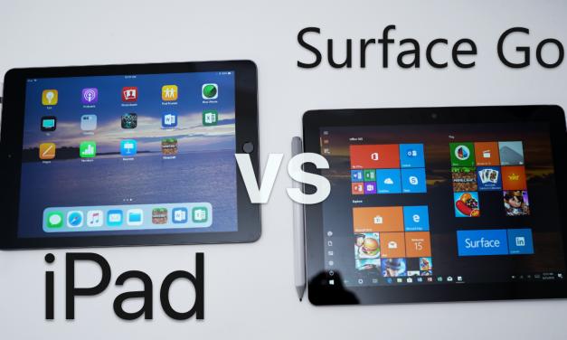 iPad vs Surface Go – Full Comparison