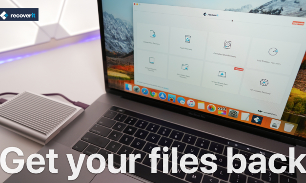 Recoverit For Mac and Windows – How to get your files back