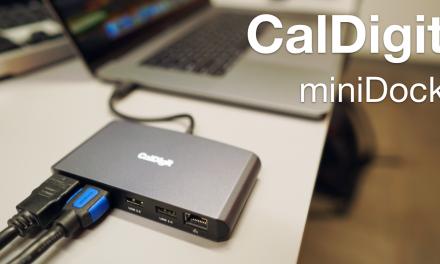 CalDigit Thunderbolt 3 Mini Dock Review – Two 4K Displays, USB and Ethernet