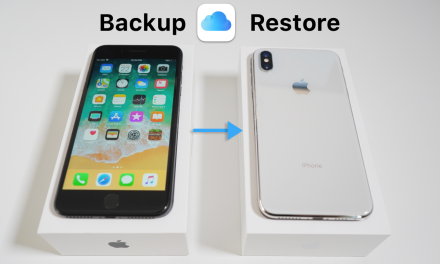 How to Backup Your Old iPhone and Restore to iPhone X, Xr, Xs, and Xs Max