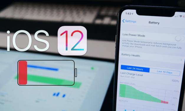 iOS 12 Battery Life So Far