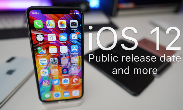 iOS 12 Public Release Date and More