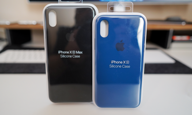 Official iPhone Xs and iPhone Xs Max Silicone Cases