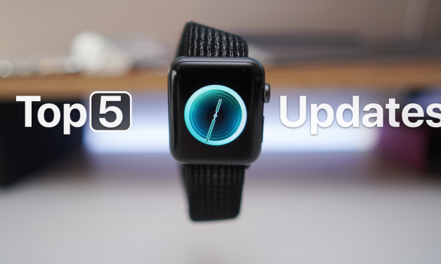 Top 5 watchOS 5 Updated Features